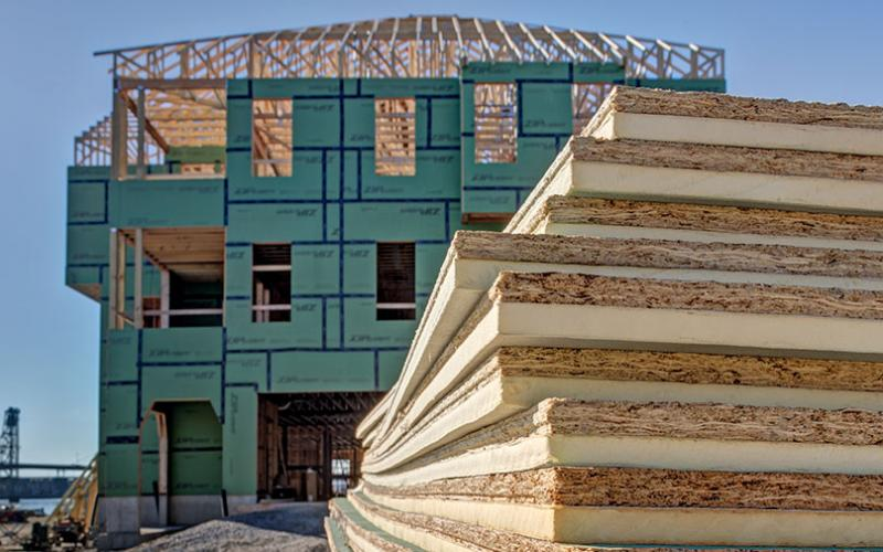 With Multiple Control Layers Built In To An Easy To Install Exterior  Sheathing System, ZIP System R Sheathing And Tape Is A Streamlined Way To  Meet ...