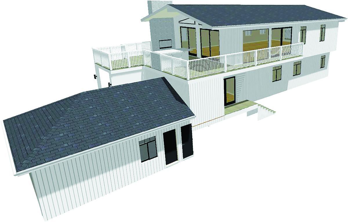 model remodel rendering
